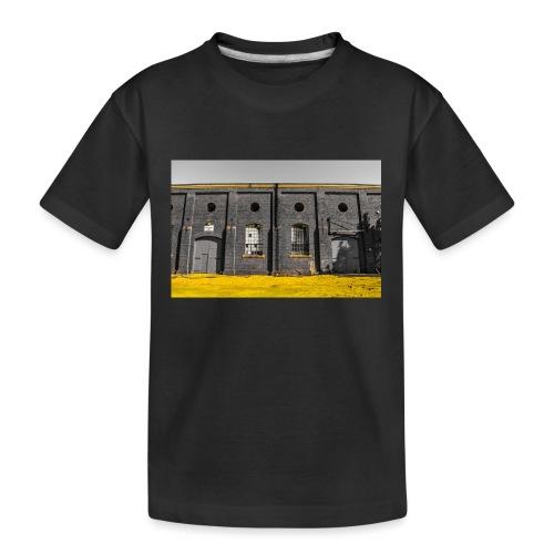 Bricks: who worked here - Kid's Premium Organic T-Shirt