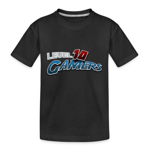 Level10Gamers Logo - Kid's Premium Organic T-Shirt