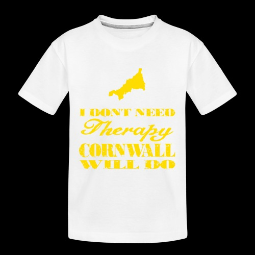 Don't need therapy/Cornwall - Kid's Premium Organic T-Shirt
