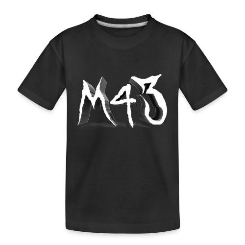 M43 Logo 2018 - Kid's Premium Organic T-Shirt