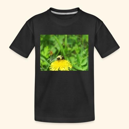 Dandelion Bee - Kid's Premium Organic T-Shirt