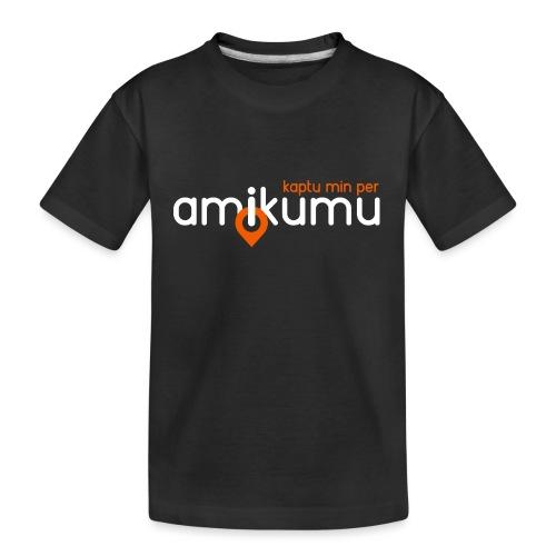 Kaptu min per Amikumu Blanka - Kid's Premium Organic T-Shirt