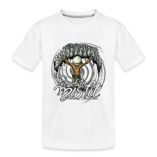 proud to misfit - Kid's Premium Organic T-Shirt