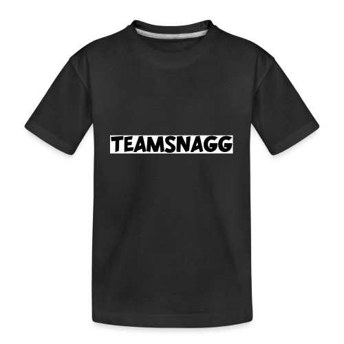 TeamSnagg Logo - Kid's Premium Organic T-Shirt