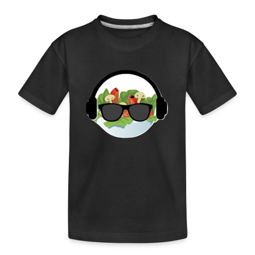 DJ salad merchandise - Kid's Premium Organic T-Shirt