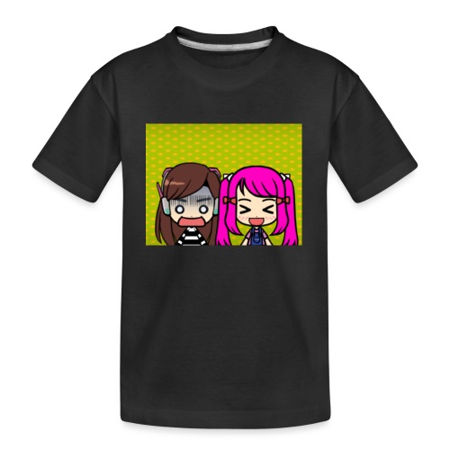 Phone case merch of jazzy and raven - Kid's Premium Organic T-Shirt
