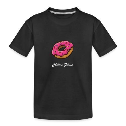 CF doughnut white writing - Kid's Premium Organic T-Shirt
