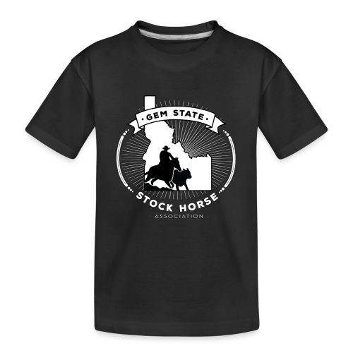 Sunburst Logo - Kid's Premium Organic T-Shirt