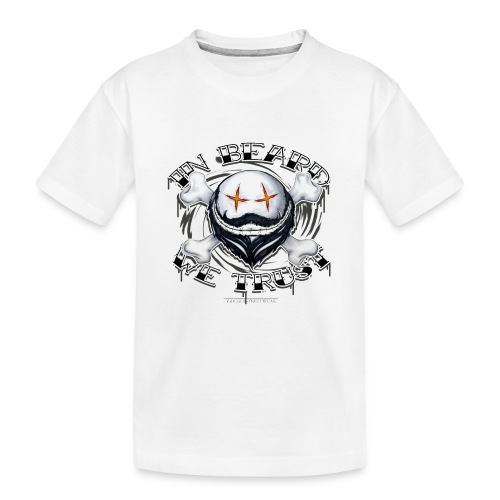 in beard we trust - Kid's Premium Organic T-Shirt