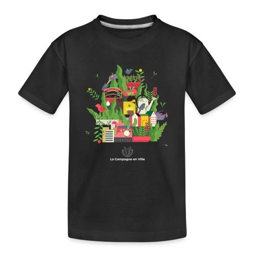 CeV Urban Farm - Kid's Premium Organic T-Shirt