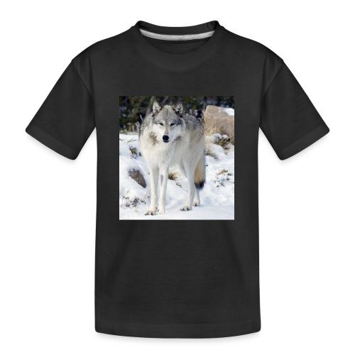 Canis lupus occidentalis - Kid's Premium Organic T-Shirt