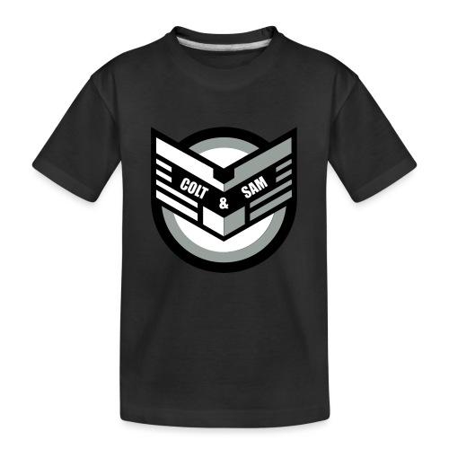 COLT AND SAM LOGO - Kid's Premium Organic T-Shirt