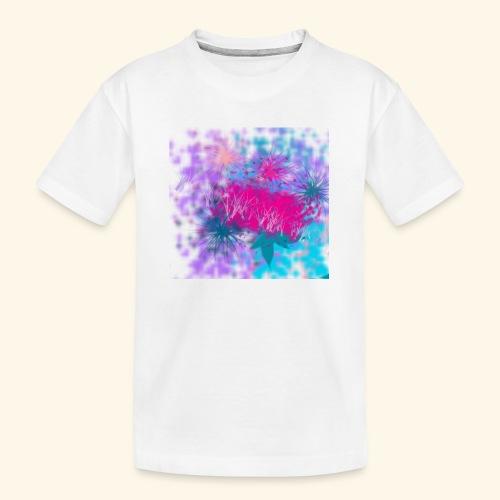 Abstract - Kid's Premium Organic T-Shirt