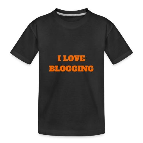 iloveblogging - Kid's Premium Organic T-Shirt