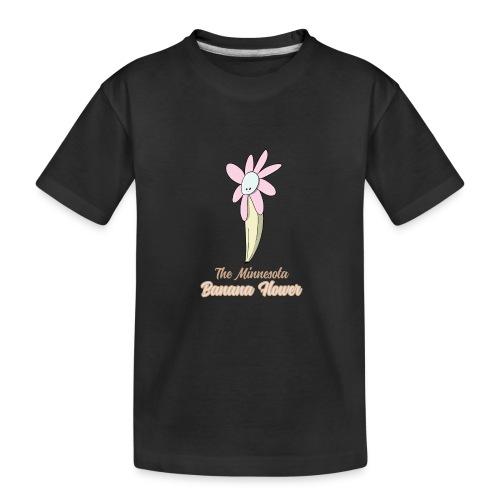 The Minnesota Banana Flower - Kid's Premium Organic T-Shirt