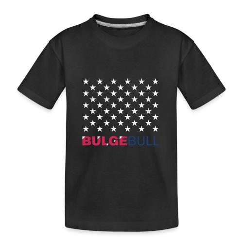 BULGEBULL JULY 4TH - Kid's Premium Organic T-Shirt