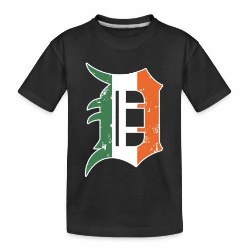 IRISH D - Kid's Premium Organic T-Shirt