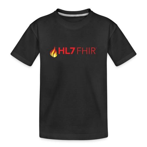 HL7 FHIR Logo - Kid's Premium Organic T-Shirt