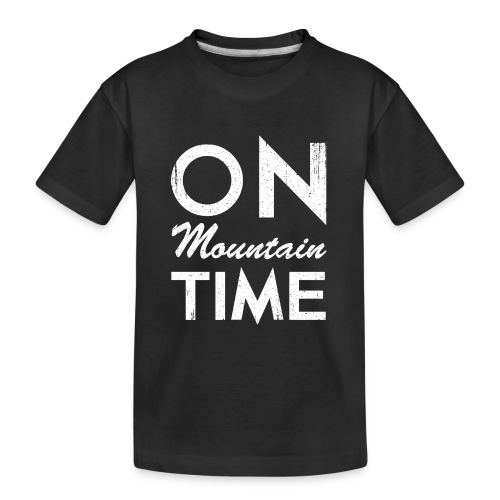 On Mountain Time - Kid's Premium Organic T-Shirt