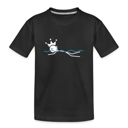 Winky Swimming King - Kid's Premium Organic T-Shirt
