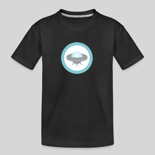 ALIENS WITH WIGS - Small UFO - Kid's Premium Organic T-Shirt