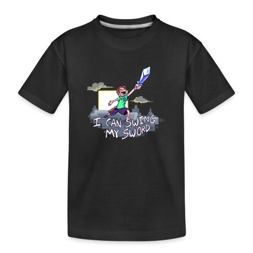 I Can Swing My Sword - Kid's Premium Organic T-Shirt