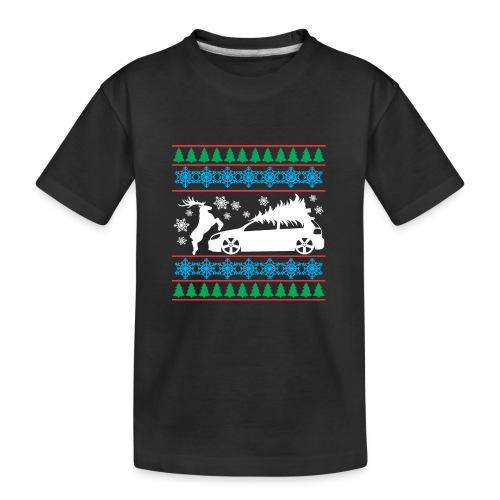 MK6 GTI Ugly Christmas Sweater - Kid's Premium Organic T-Shirt