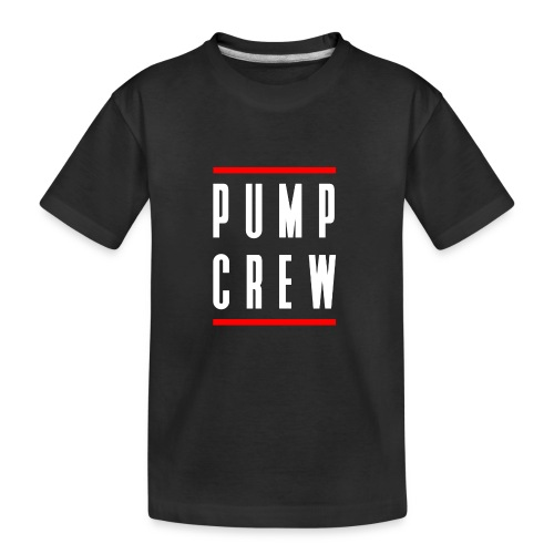 Pump Crew - Kid's Premium Organic T-Shirt