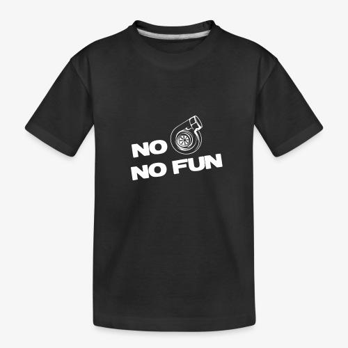 No turbo no fun - Kid's Premium Organic T-Shirt