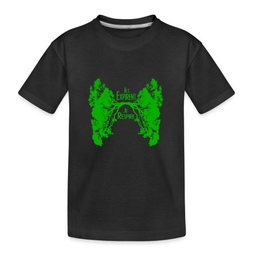 ExpireRespireVert - Kid's Premium Organic T-Shirt