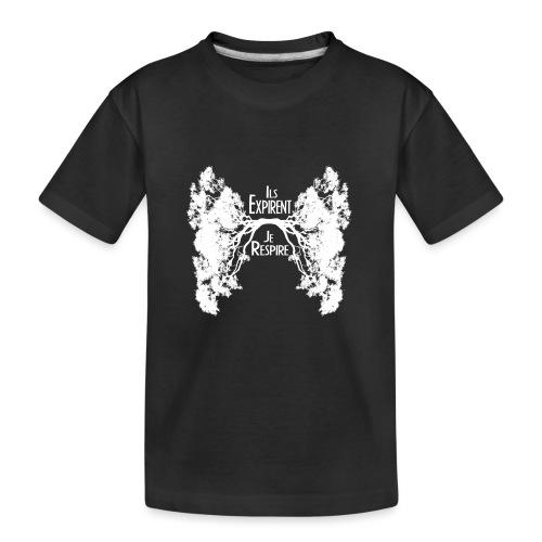 Oxygène Blanc - Kid's Premium Organic T-Shirt