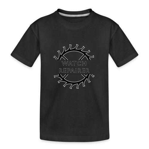 Watch Repairer Emblem - Kid's Premium Organic T-Shirt