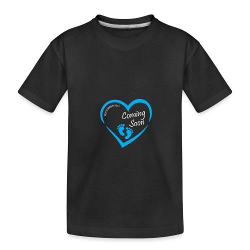 Baby coming soon - Kid's Premium Organic T-Shirt