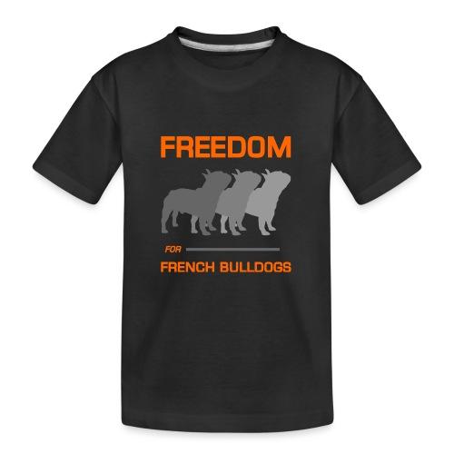French Bulldogs - Kid's Premium Organic T-Shirt