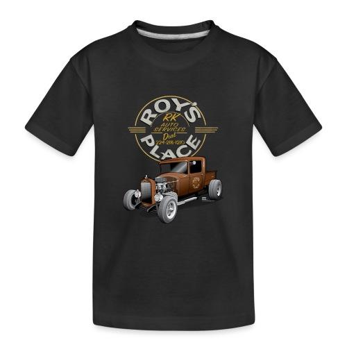 RoysRodDesign052319_4000 - Kid's Premium Organic T-Shirt