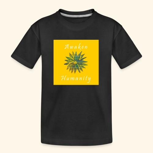 Awaken Humanity Brand - Kid's Premium Organic T-Shirt