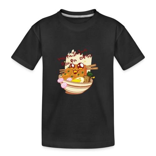 Watashiwa Ramen Desu - Kid's Premium Organic T-Shirt