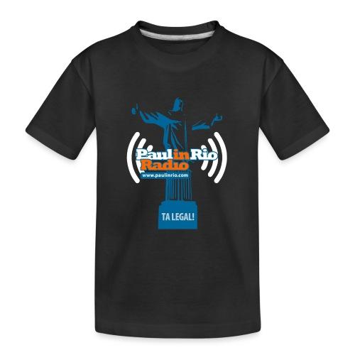 Paul in Rio Radio - The Thumbs up Corcovado #2 - Kid's Premium Organic T-Shirt