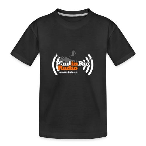 Paul in Rio Radio - Thumbs-up Corcovado #1 - Kid's Premium Organic T-Shirt