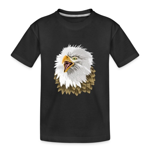 Big, Bold Eagle - Kid's Premium Organic T-Shirt