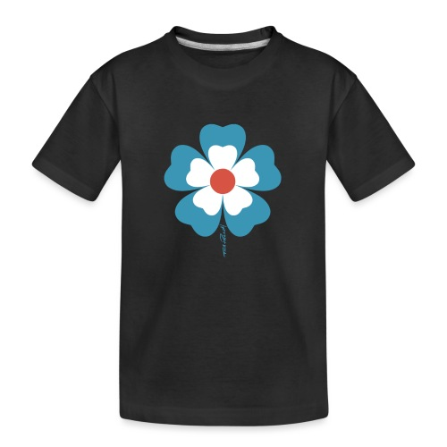 flower time - Kid's Premium Organic T-Shirt