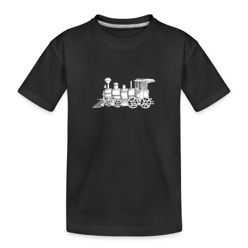 steam train - Kid's Premium Organic T-Shirt