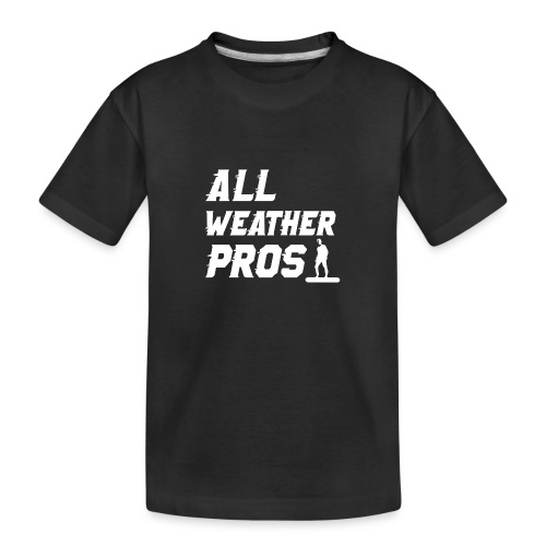 Messenger 841 All Weather Pros Logo T-shirt - Kid's Premium Organic T-Shirt