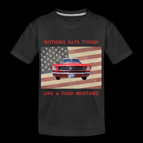 Mustang Tough - Kid's Premium Organic T-Shirt