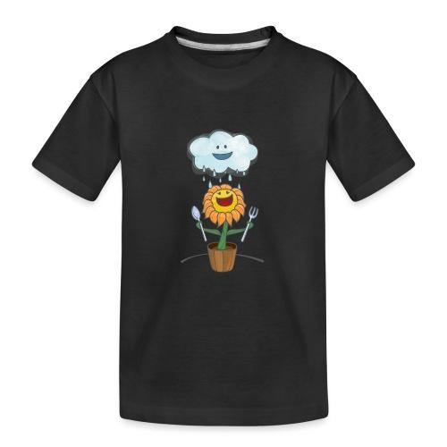 Cloud & Flower - Best friends forever - Kid's Premium Organic T-Shirt