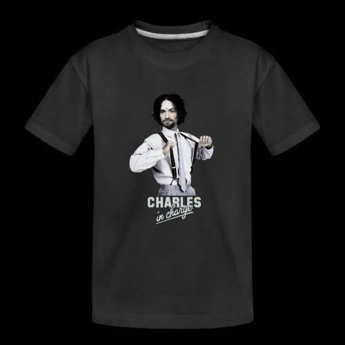 CHARLEY IN CHARGE - Kid's Premium Organic T-Shirt