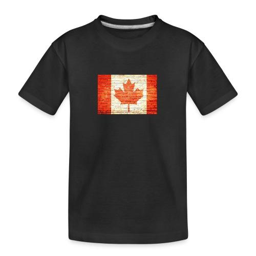 Canada flag - Kid's Premium Organic T-Shirt