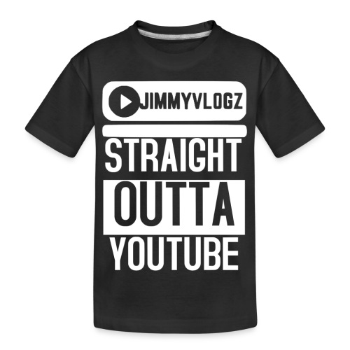 Straight Outta YouTube Merch! - Kid's Premium Organic T-Shirt