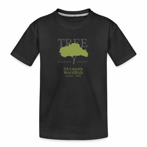 Tree Reading Swag - Kid's Premium Organic T-Shirt