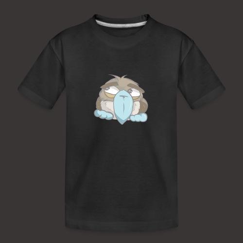Cute Boobie Bird - Kid's Premium Organic T-Shirt